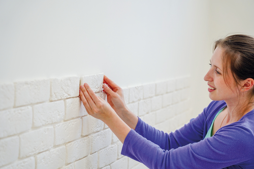 Install Brick Veneer on Drywall