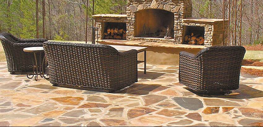 installing a flagstone patio